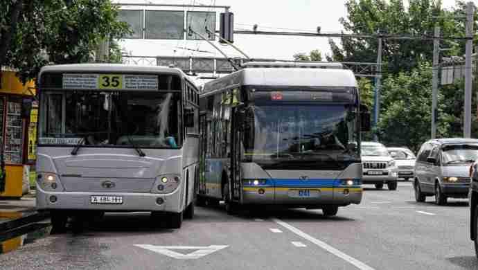 Выходные в Алматы: акимат остановит транспорт и перекроет курорты