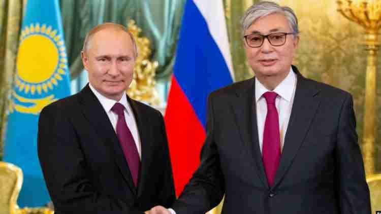 Токаев на Параде Победы 2020: детали теплой встречи с Путиным