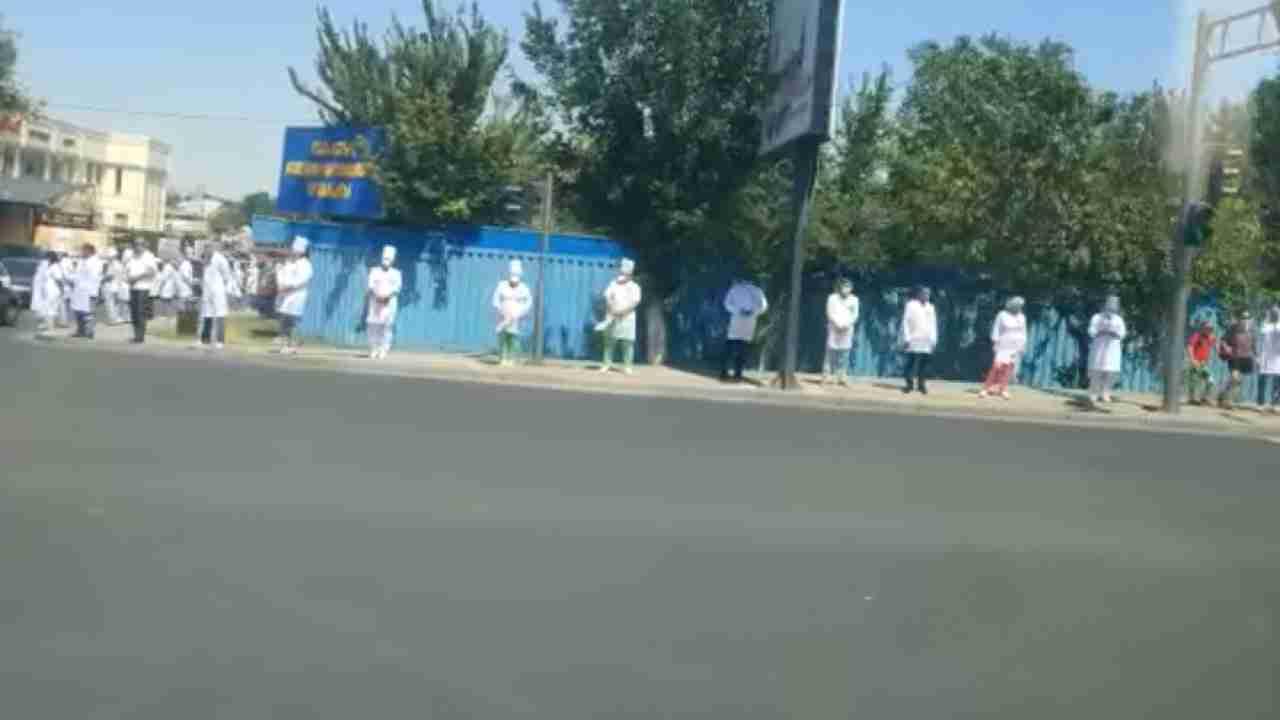 Минздрав прокомментировал флешмоб медиков в Шымкенте