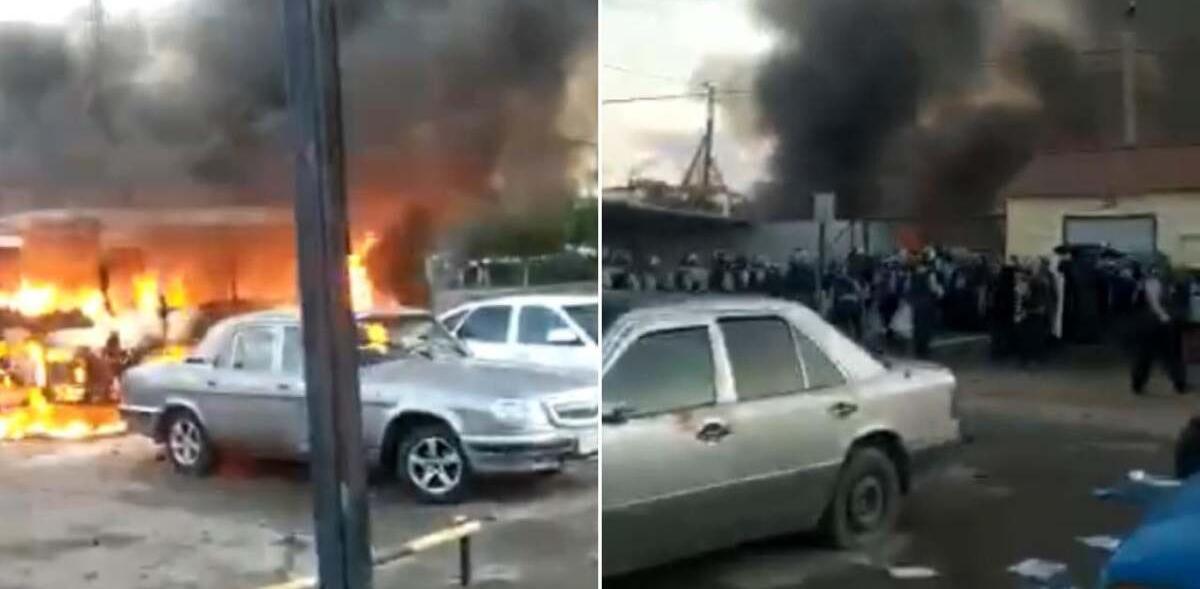 Беспорядки в Сатпаеве: задержаны зачинщики