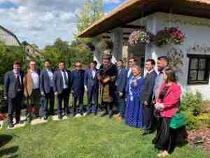 Саакашвили и казахская камча разозлили пользователей сети: фото