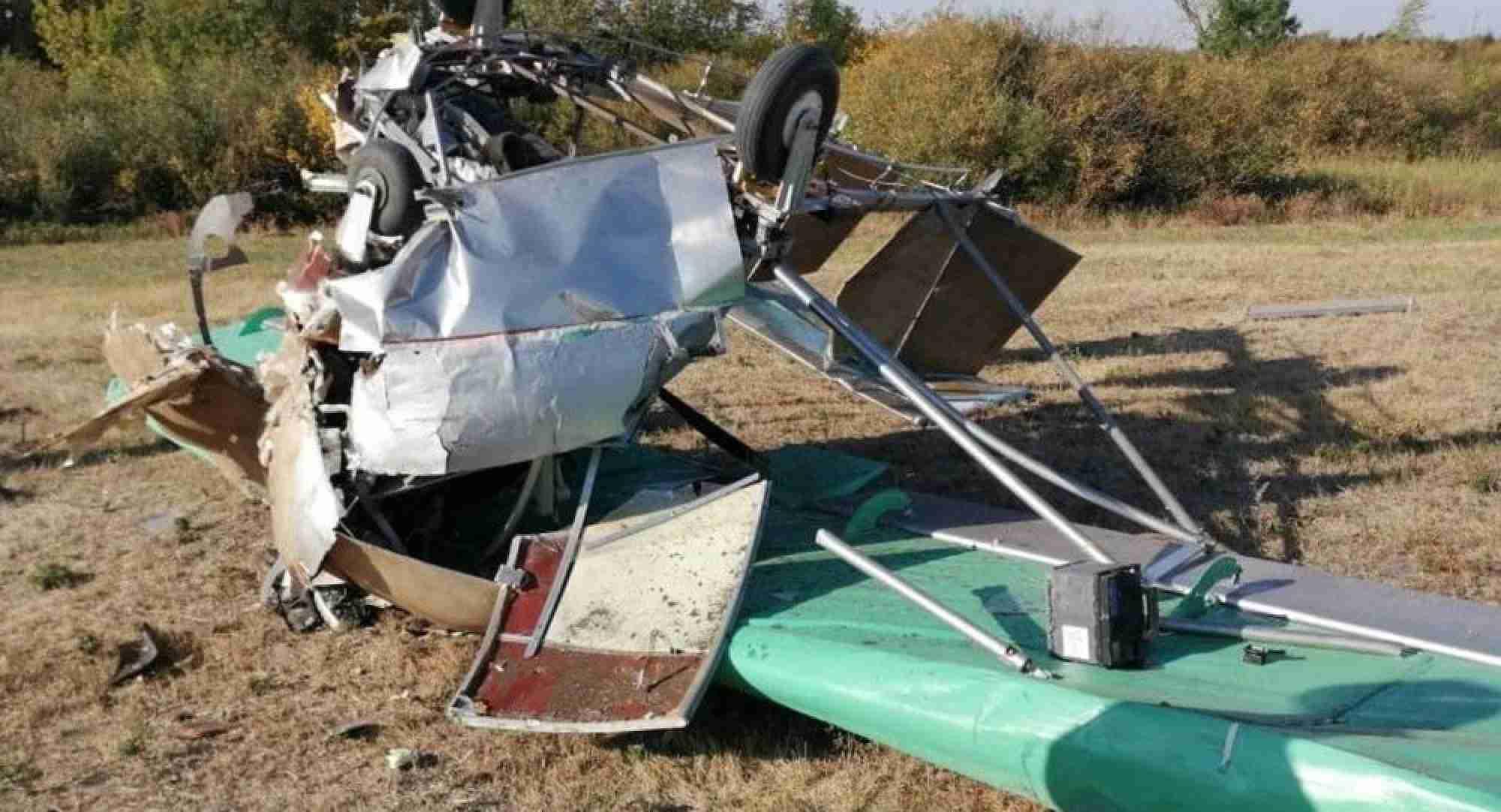 Авиакатастрофа под Уральском: есть жертвы