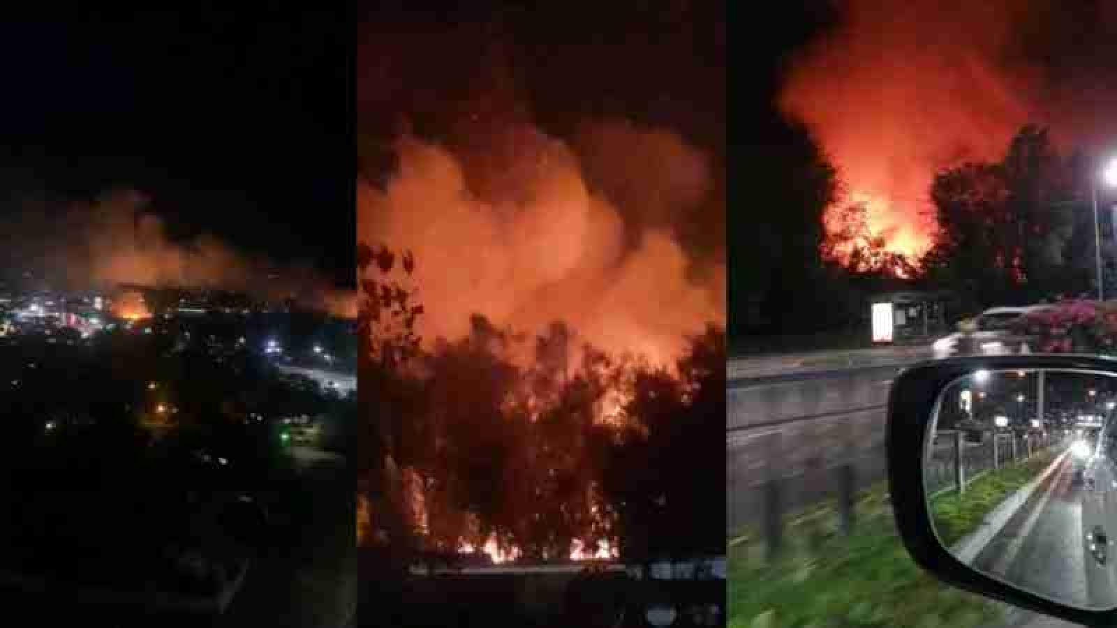 Пожар на Казахфильме: следствие подозревает поджог