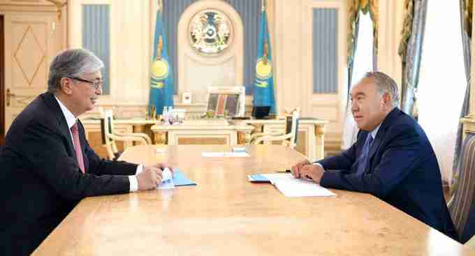 Встреча Назарбаева и Токаева: что обсуждали президенты