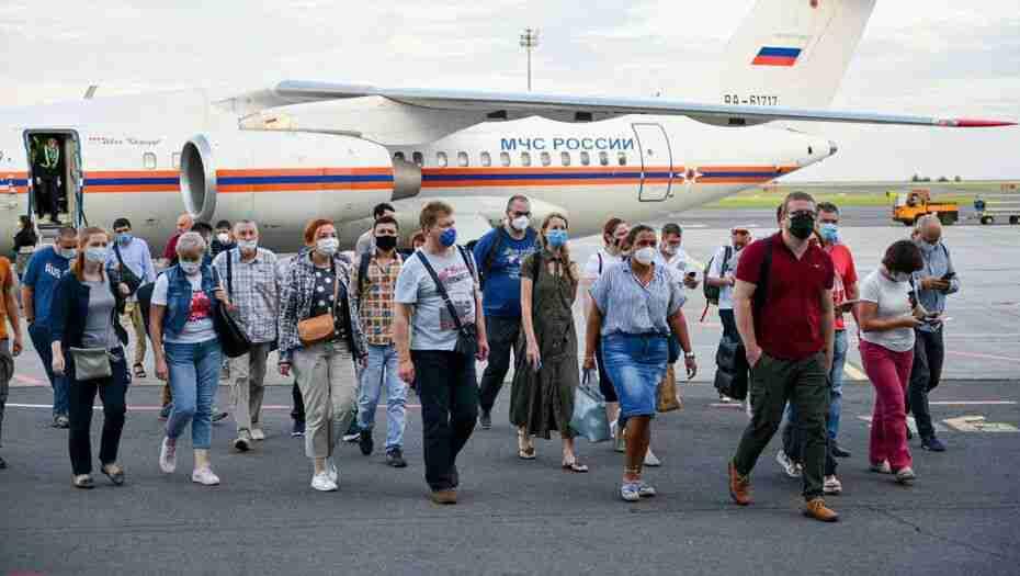 В Казахстане окончилась российская гуманитарная миссия