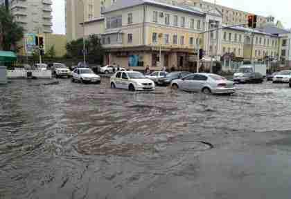 Алматы угрожает наводнение