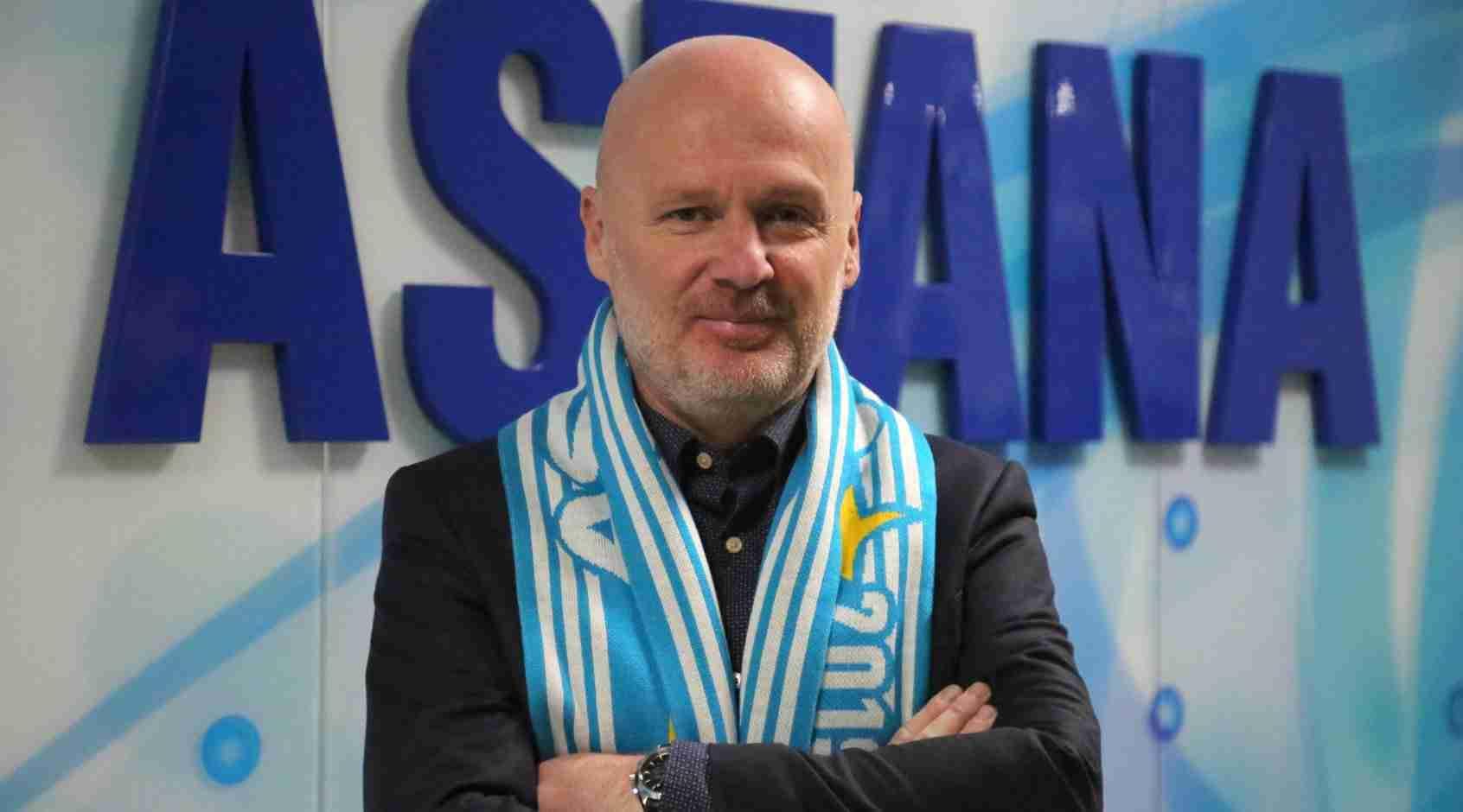 Футбольный клуб Астана лишился главного тренера