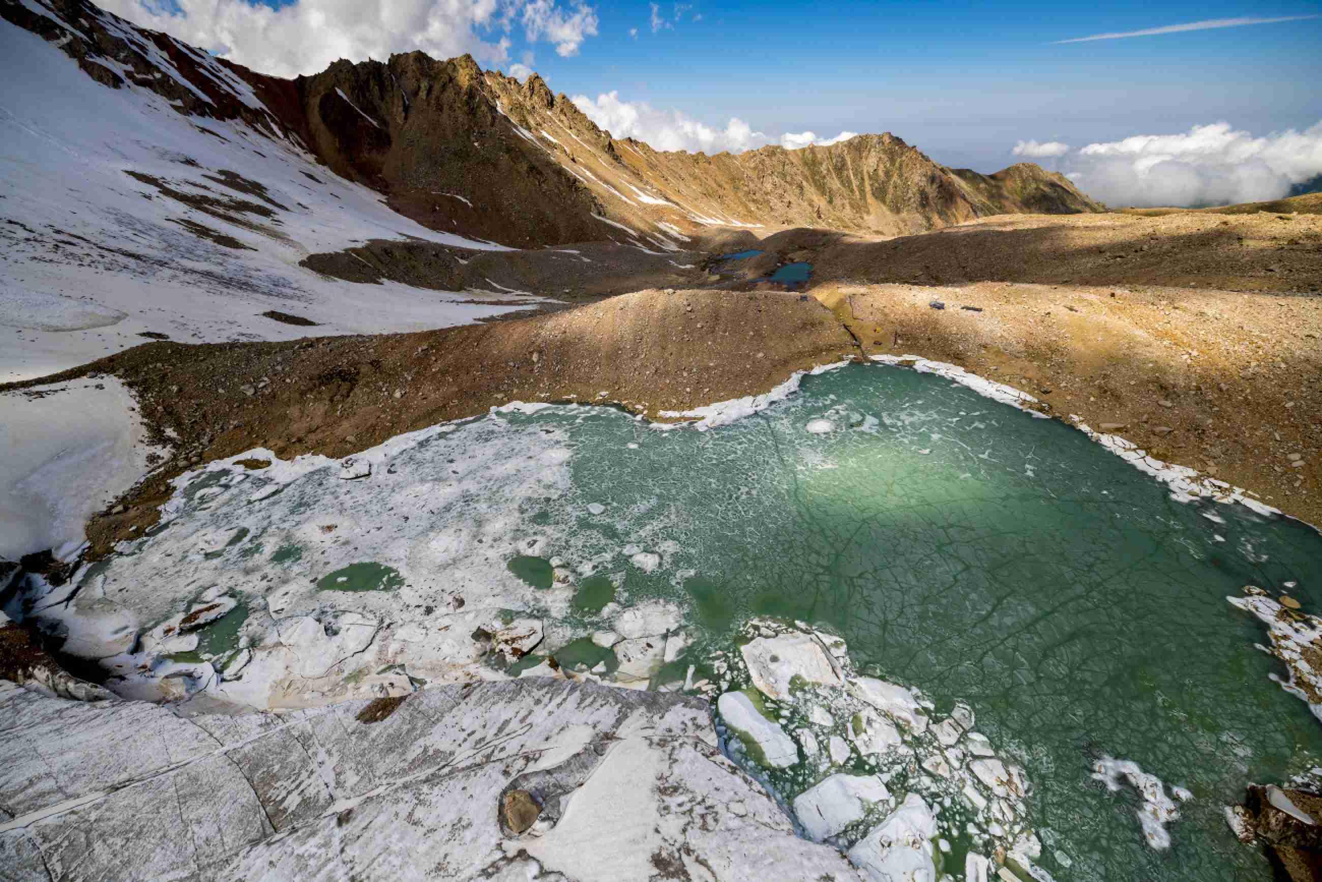 Ледники северного Тянь-Шаня могут исчезнуть через 50 лет