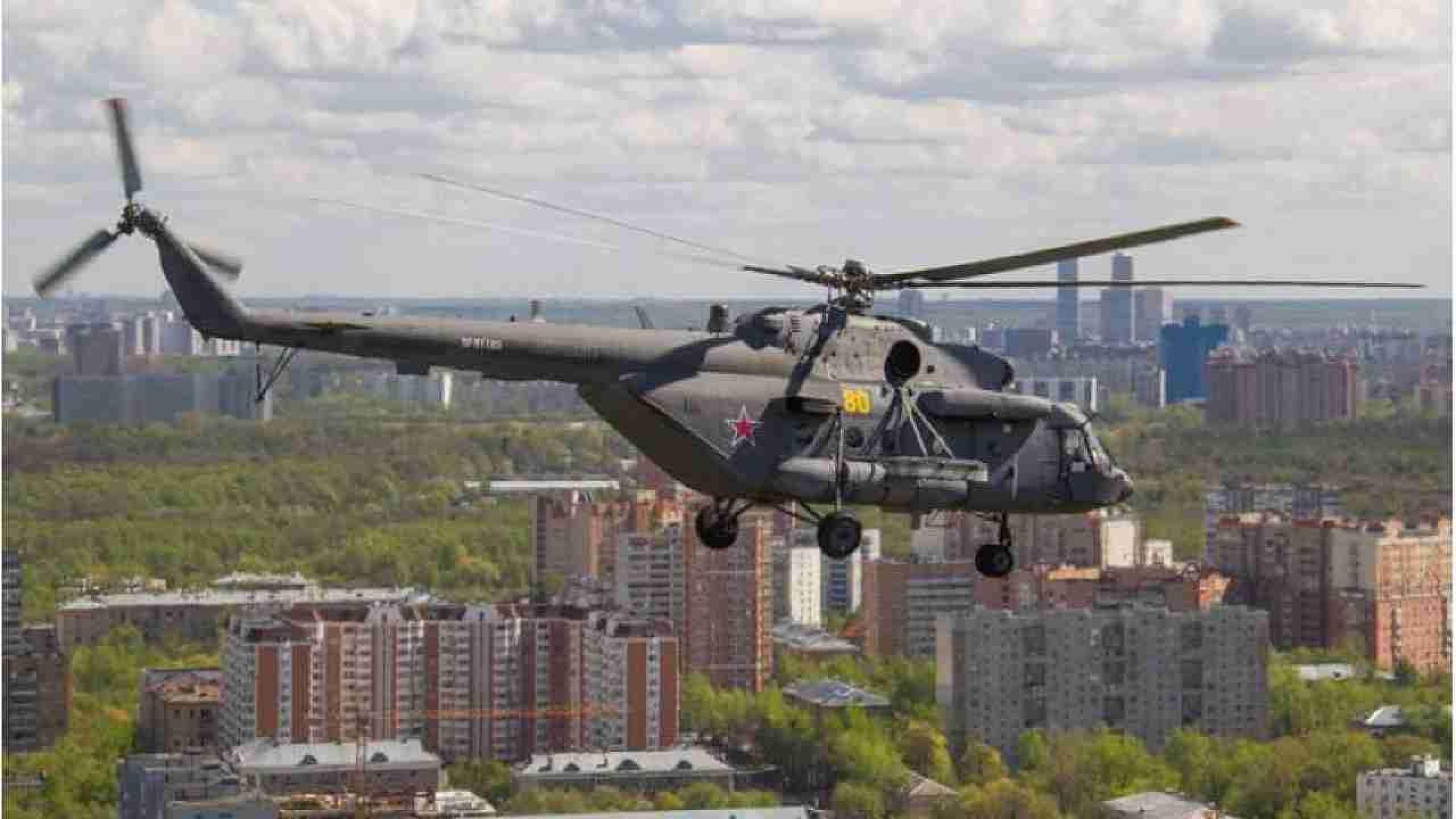 Вертолеты над Алматы привели к панике среди горожан