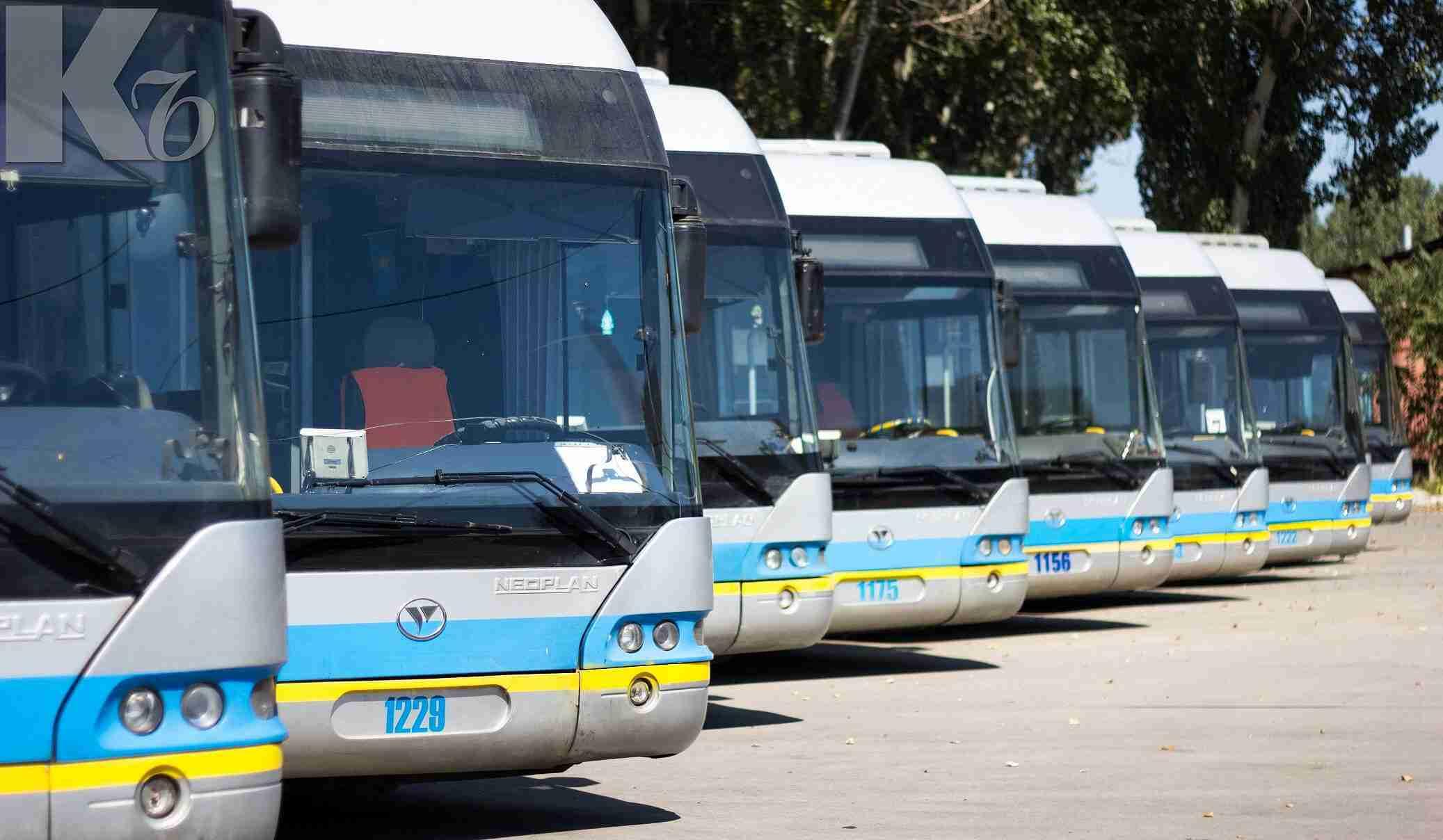 В общественном транспорте Алматы появится бесплатный доступ в интернет
