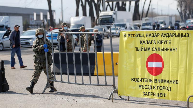 Полиция готова к усилению карантина в Казахстане