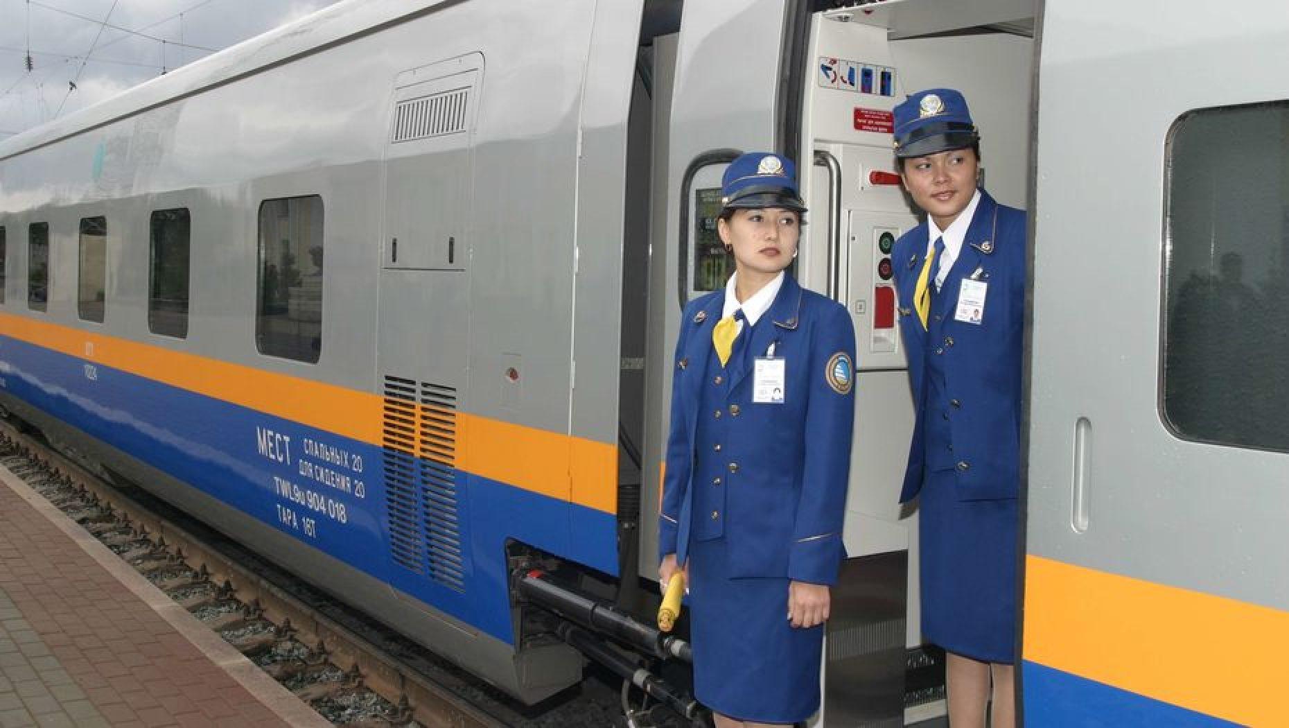 Происшествия в Казахстан Темир Жолы