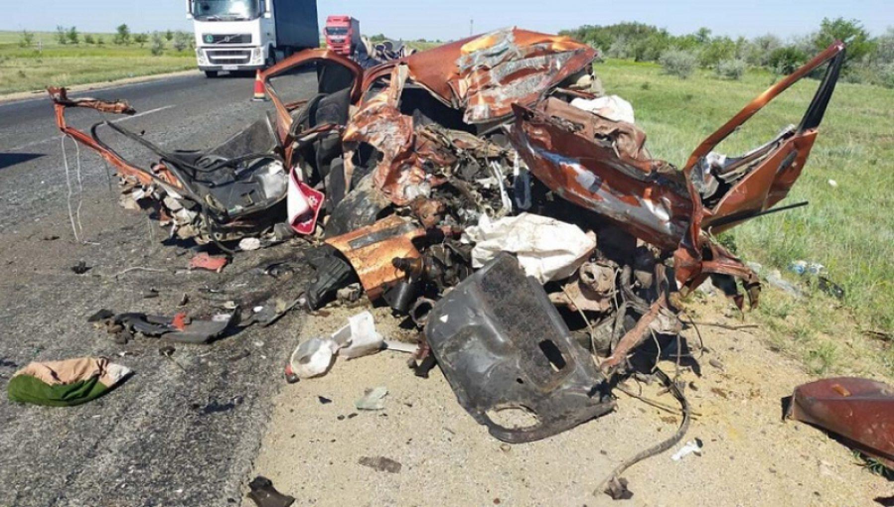 Смертельное ДТП произошло в Актюбинской области