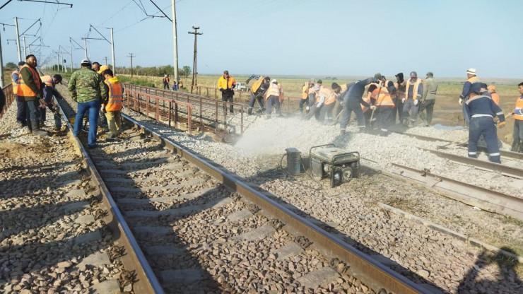 В Жамбылской области возродили железнодорожное движение