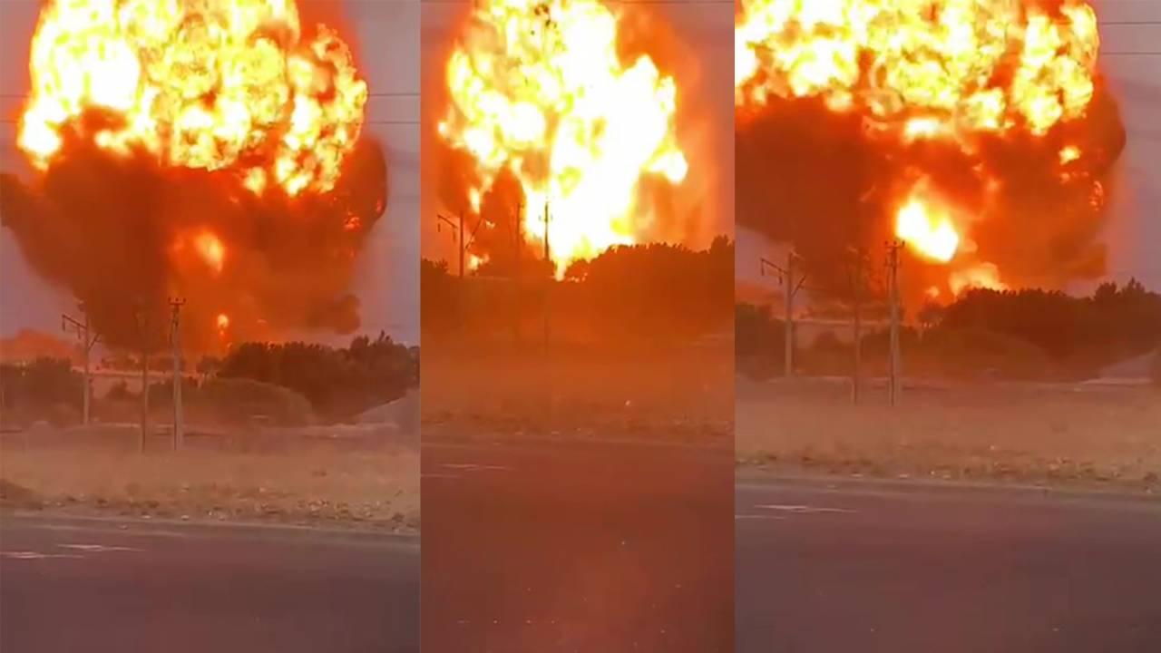 Что происходит возле взрыва на военном складе в Байзакском районе Жамбылской области