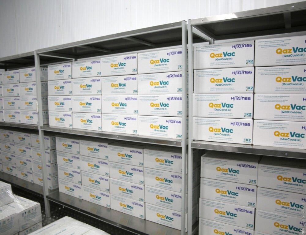 Вакцину QazVac будут поставлять в другие страны