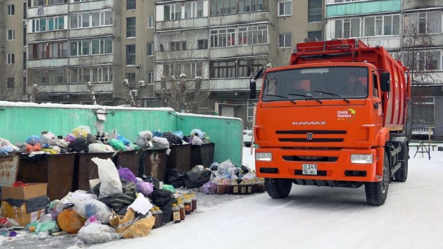 проблемы с уборкой мусора Казахстан